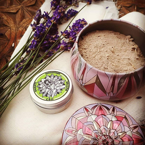 Clay Womb Healing Pack with Shaki Moontime CBD Butter