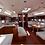 New Oceanis 51.1 monohull bareboat sailing yacht charter Kythnos salon view