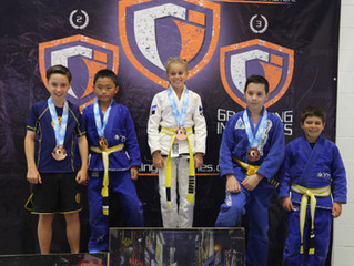 Gracie Kids bring home gold at Grappling Industries Competition