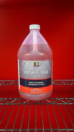 MOC Wash n' Wax High Foaming Shampoo & Wax 1 Gal.
