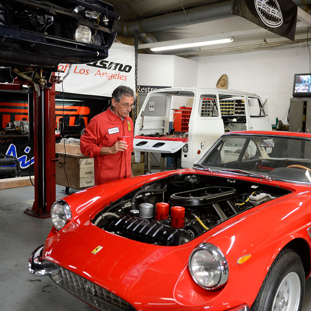 Gran Turismo of Los Angeles - Ferrari 330 GTC