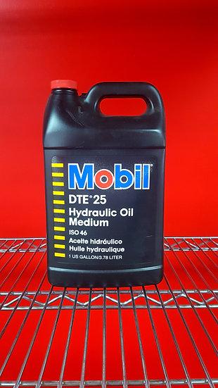 Mobil DTE 25 Hydraulic Oil Medium  1 Gallon