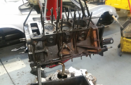 Ferrari Dino engine