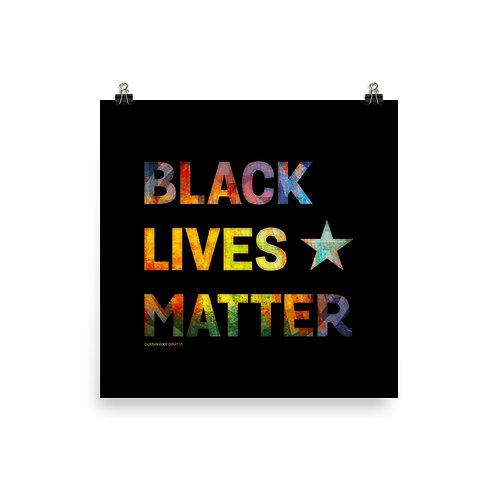Black Lives Matter Poster Print