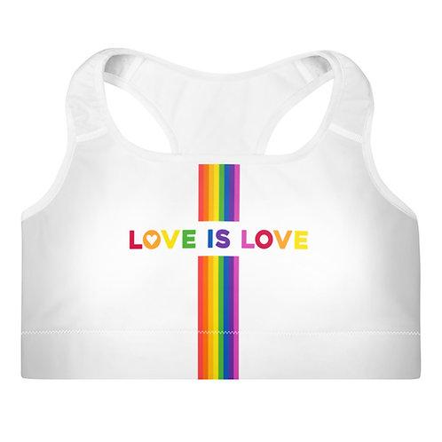 Pride Rainbow Sports Bra