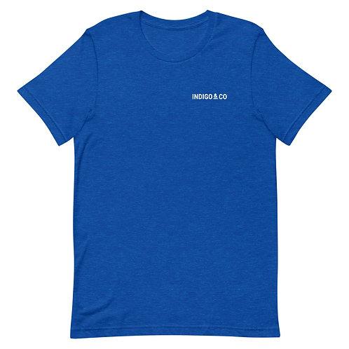 Indigo & Co Blue Work Shirt