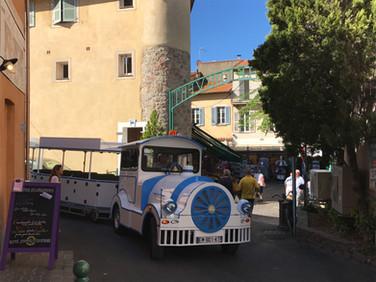 Le Petit Train des Pignes de Sainte-Maxime