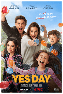 Yes_Day_2021 film_poster for movie review