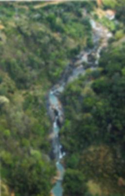 Foto aérea do Parque Ribeirão
