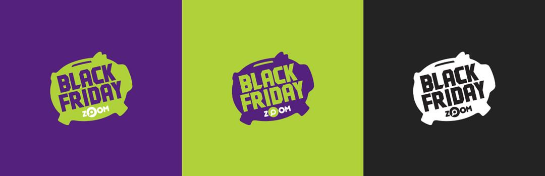 Logos para Black Friday Zoom