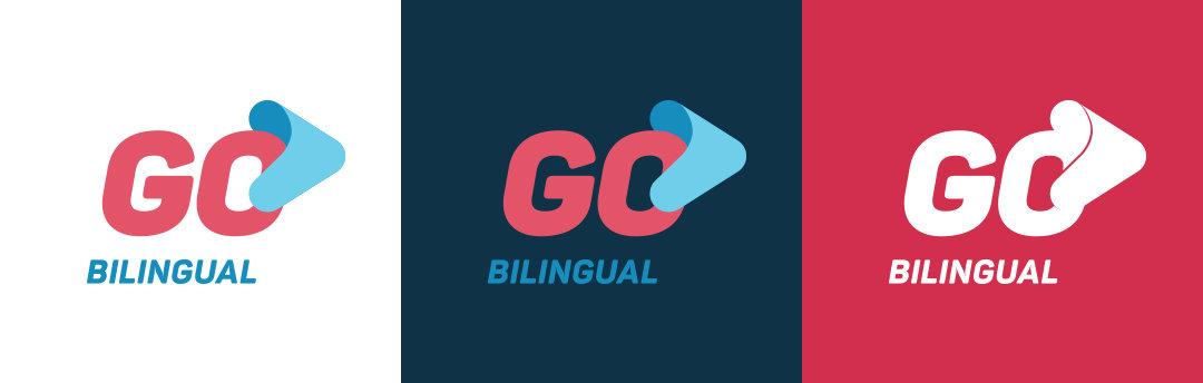 Go Bilingual Logo vertical