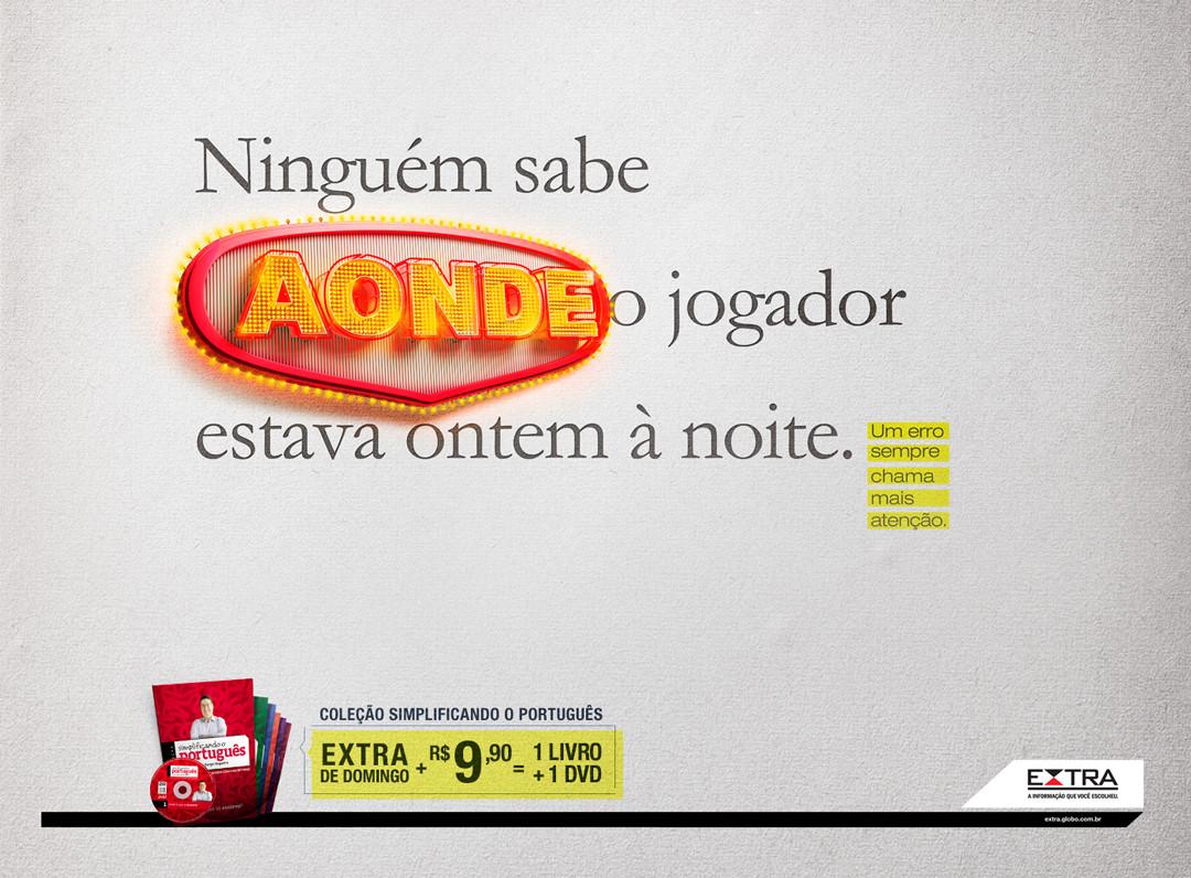 Extra Português Aonde