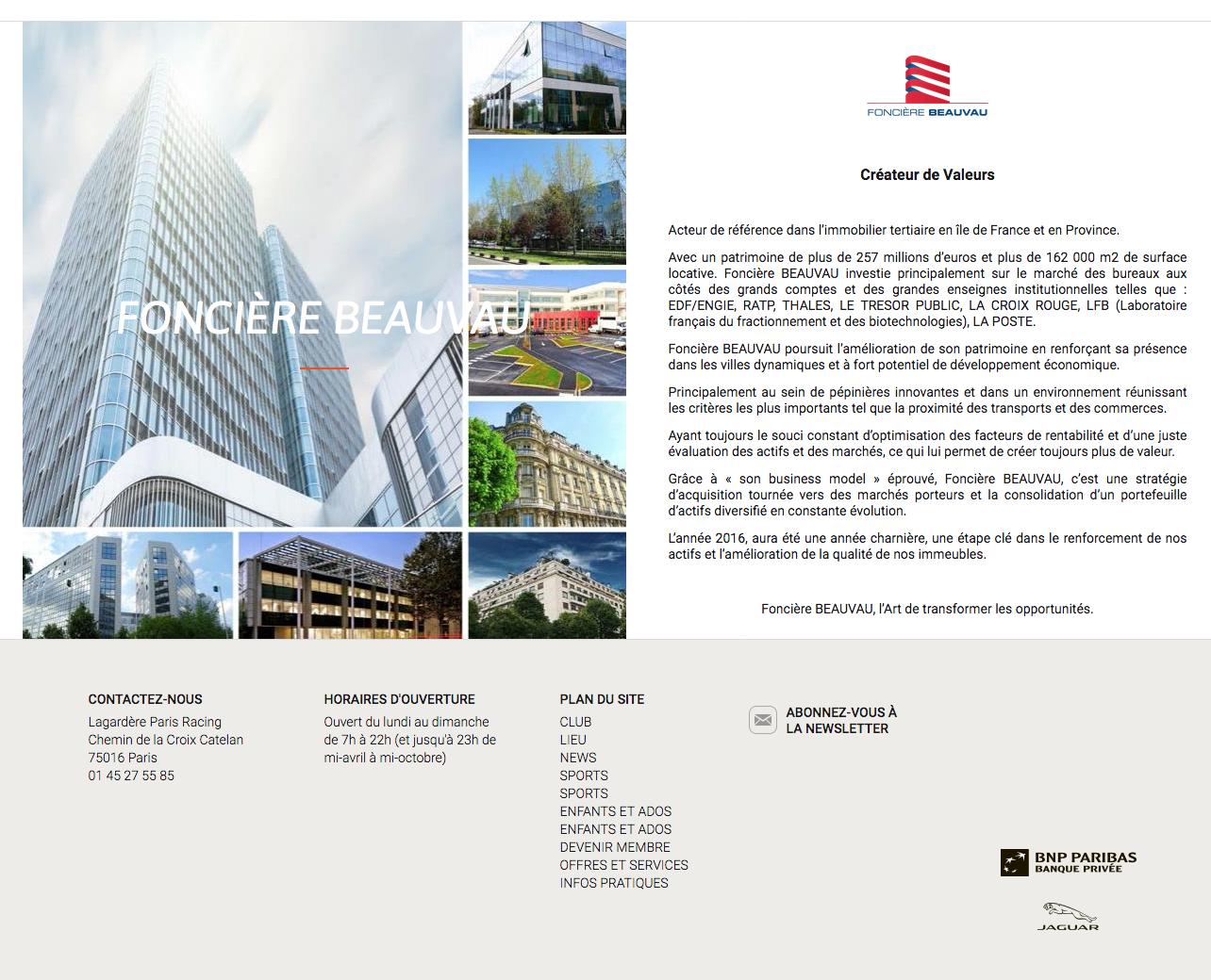 Publicité Partenaires Lagardère