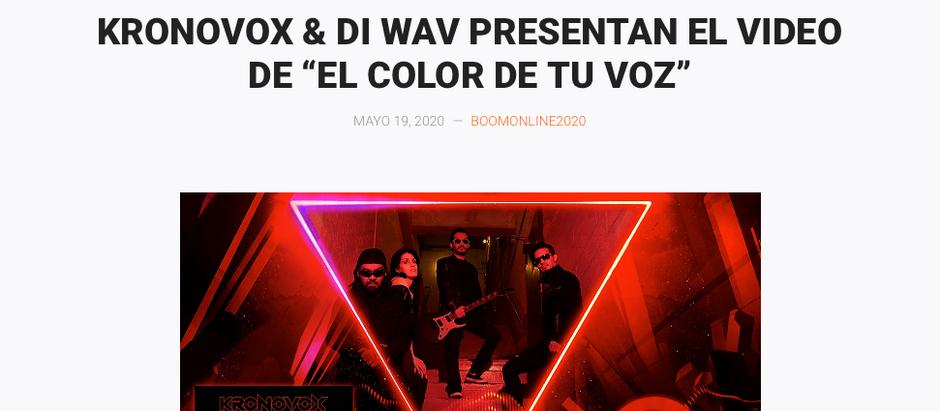 KronoVox en Boom Magazine!