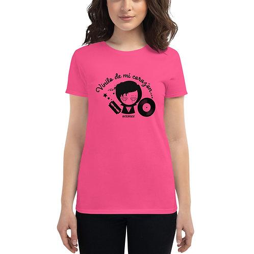 Emo Vinilo - Women's short sleeve t-shirt