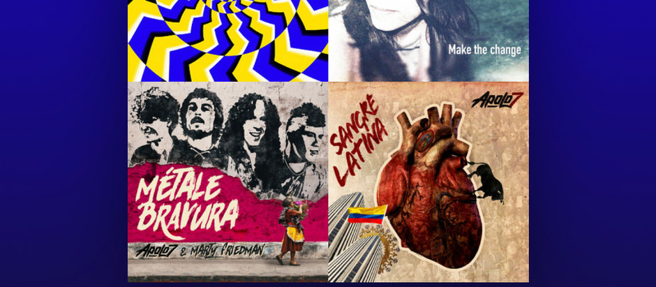 """""""El Color de Tu Voz"""" en el Playlist 'Grand Prix Exprésate con rock'."""