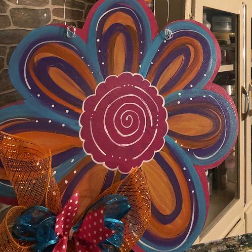 Huge Flower PIY Blank