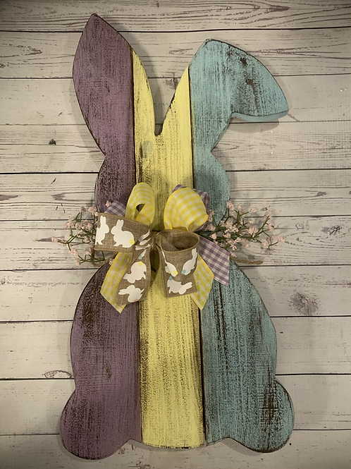 Plank Easter Bunny