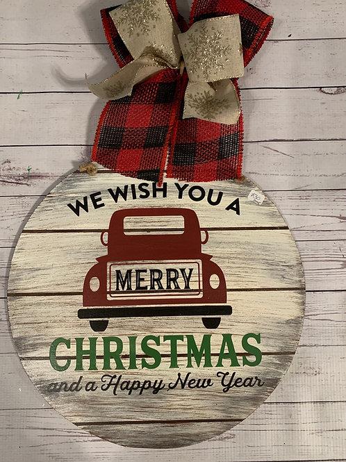 Merry Christmas Pickup Round