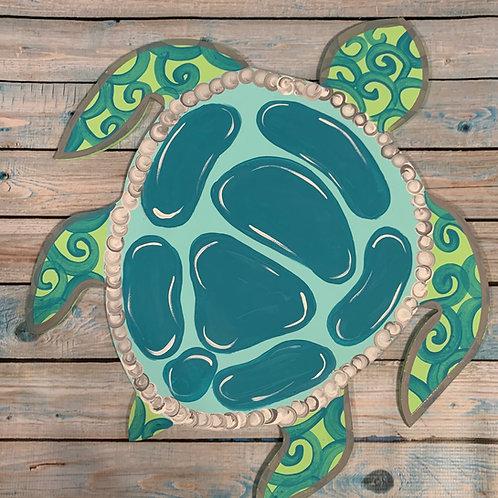 Sea turtle blank