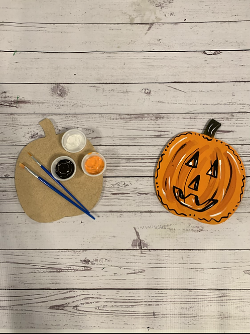 DIY Pumpkin Paint Kit
