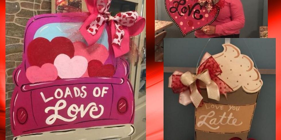 Valentine Hearts and Dinner Palooza