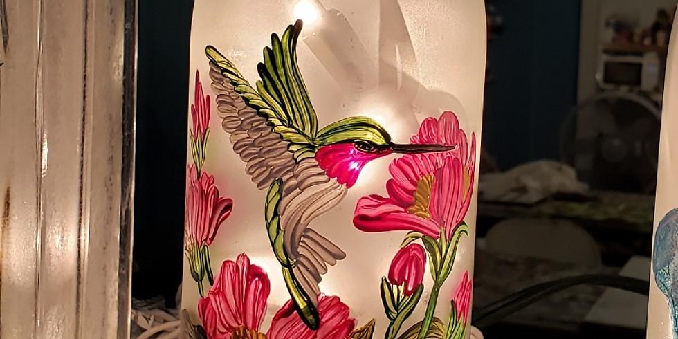 Hummingbird Wine Bottle Palooza