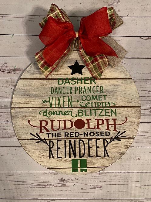 Reindeer Names Round