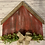 Thumbnail: Pallet Barn w/flowers and bow