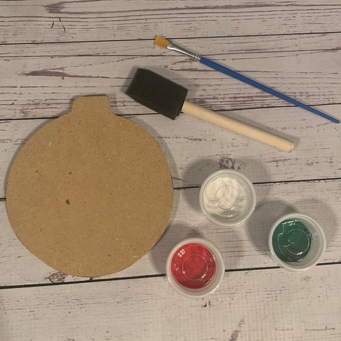 Ornament DIY paint kit