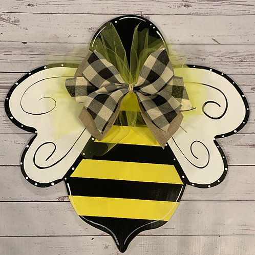 Bumble Bee Door Hanger
