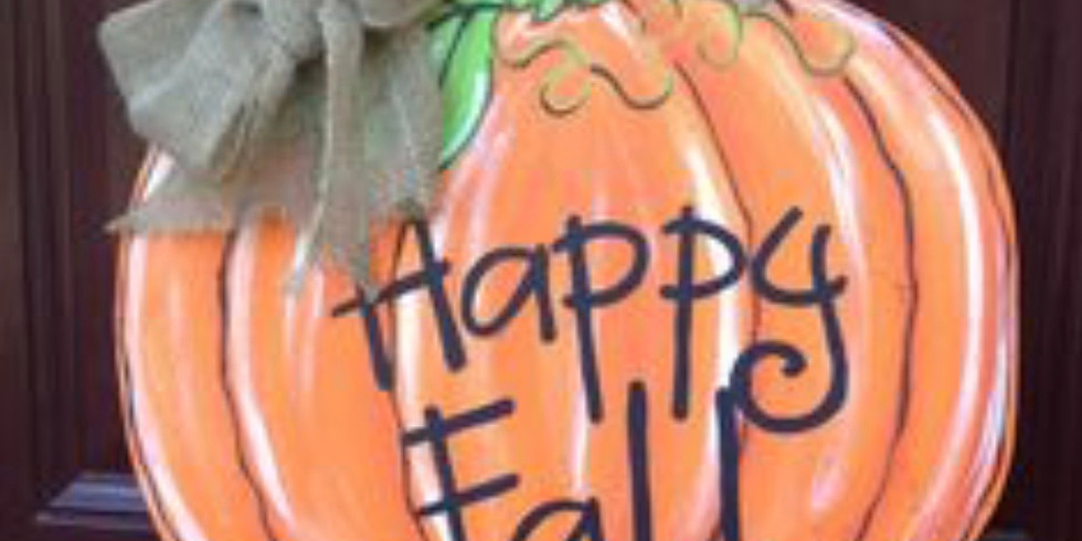 Paints and Pages Pumpkin Style