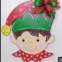 Elf Door Hanger