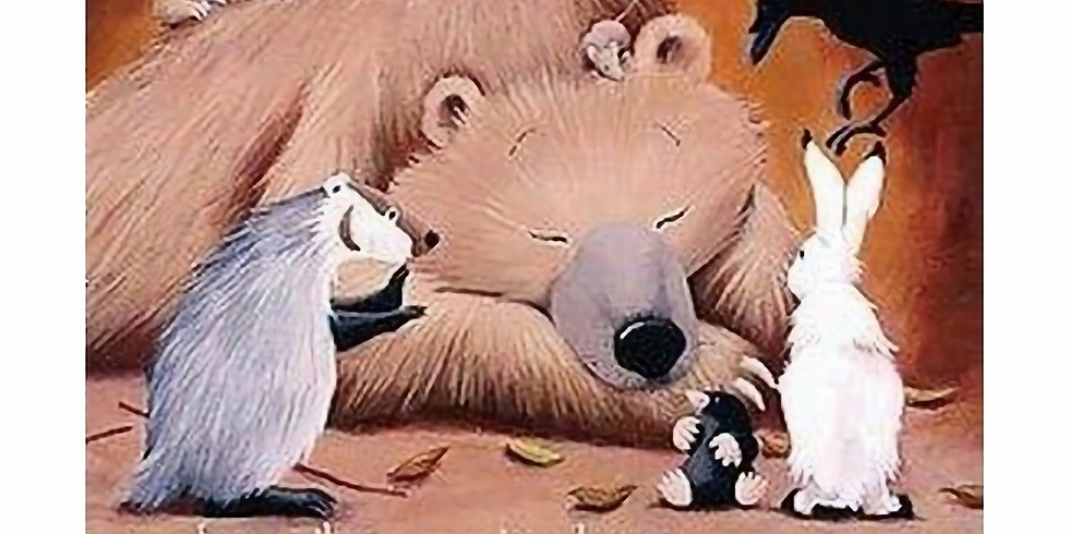 Paints and Pages Palooza: Bear Snores On