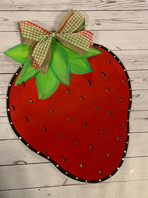 Strawberry Door Hanger