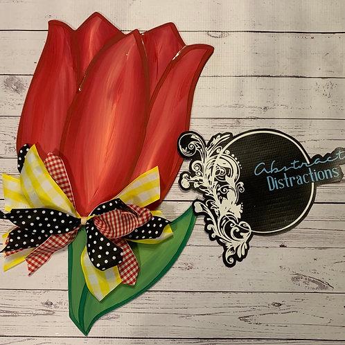 Tulip door hanger