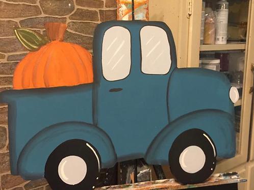 Pumpkin Pickup Truck PIY Blank