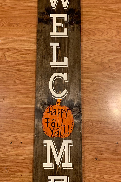 Interchangeable WELCOME Porch Sign