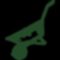 Ackerschaft_Logo_Schubkarre_Dunkelgrün