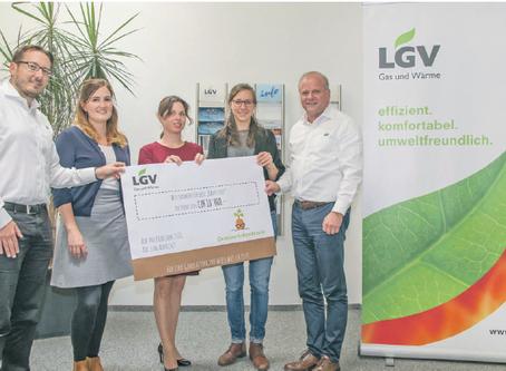 LGV wird unser Hauptpartner