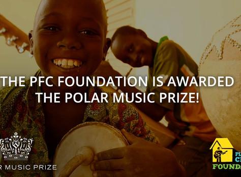 PFC Foundation awarded Polar Music Prize