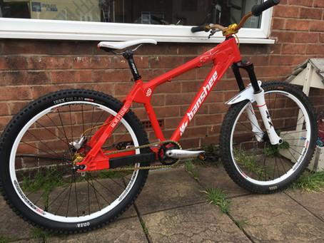 Banshee Morphine 4X Bike up for sale
