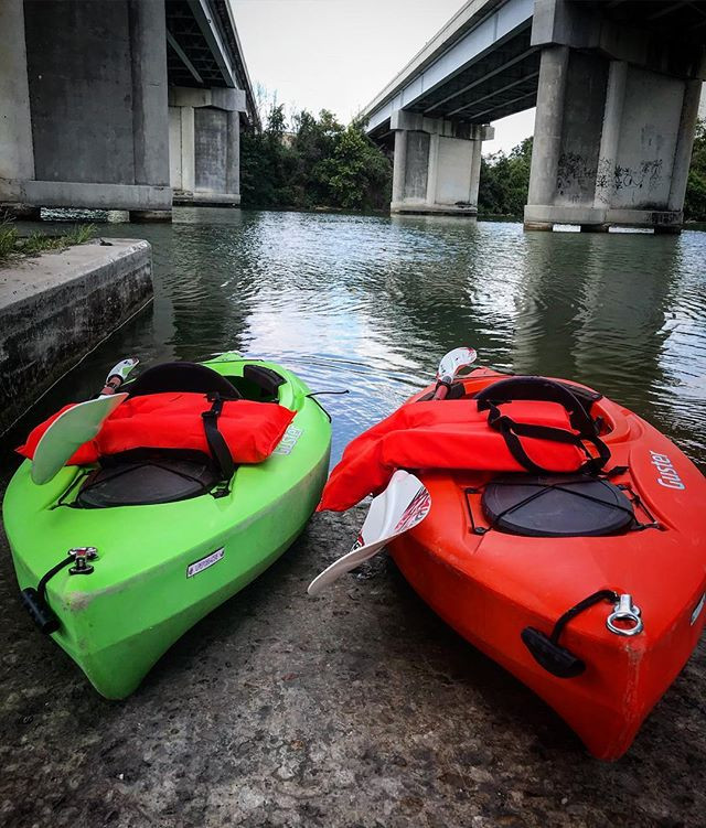 It's a good day for some kayaking! We br