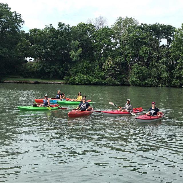 Early morning kayaking! . . . . #kayak #