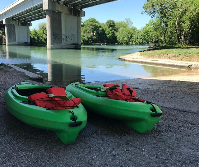 It is a beautiful day for some kayaking