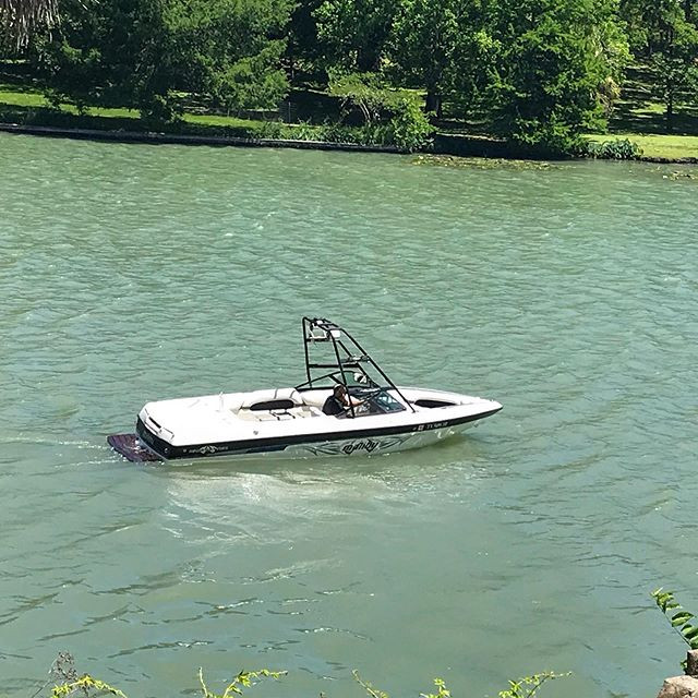 This is our ski boat that you can rent b