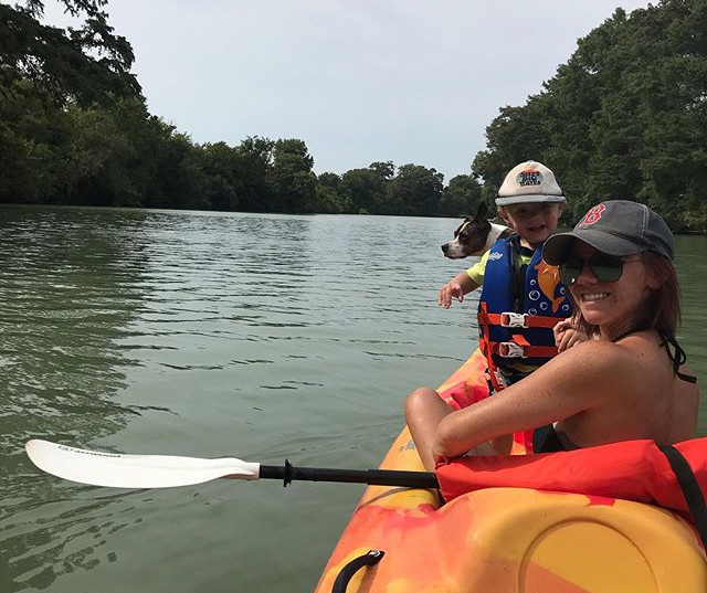 We took a family kayaking trip around La