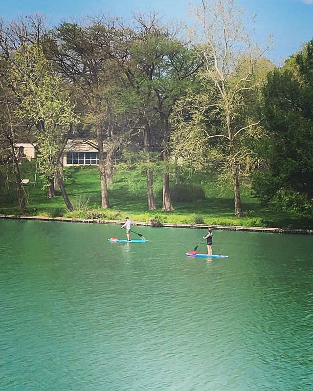 Great day for paddle boarding today! _#r