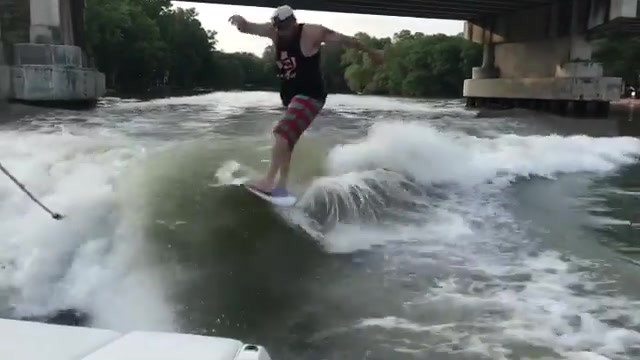 Check out Captain Red Beard shredding be