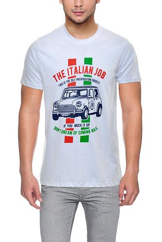 The Italian Job Premium Unisex White T Shirt